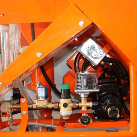 Masina de tencuit BISONTE PCS-K4, debit 6-40 l/min, trifazica