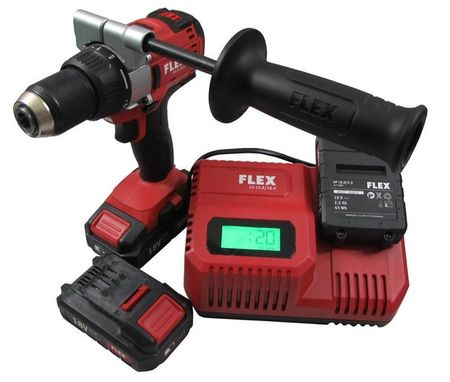 FLEX DD 2 G 18 V 2.5 Ah Masina de gaurit Insurubat