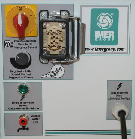 Masina de finisat umed pt. tencuieli si gleturi mecanizate Speedy , 370mm