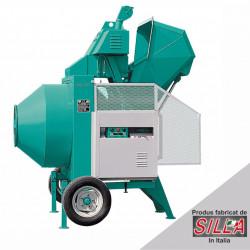 Betoniera BIR 400, motor 400V, 3.0 kW, capacitate 400 l, productie beton 8 mc/ora