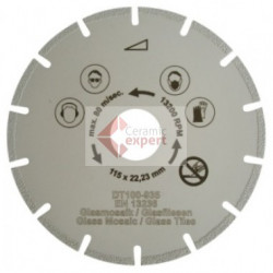 Disc diamantat special, diam. 115mm - Super Premium - Mozaic