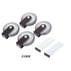 Kit roti si manere pt. Exploit/Bolt/Mistral - Raimondi-315CR02K
