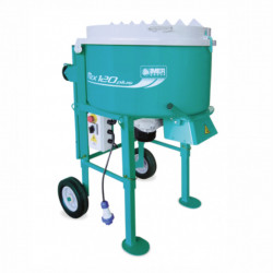 Mix 120 Plus, capacitate 120 l, diametru cuva 745 mm, motor 230V, 1.4 kW