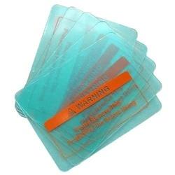 Geam plastic protectie exterioara 104x89mm