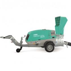 Pompa Mover 270 EVO DBR, debit 220 l/ciclu, max. 12–16 mm, motor diesel, 47 cp