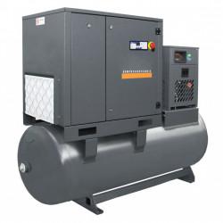 Compresor cu surub 15kW , 2250 L/min - Rezervor 500 Litri - WLT-15/500-P-COMBO