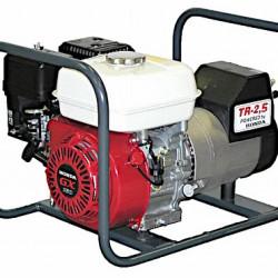 Generator de curent Honda TR 2.5, motor GX-160, monofazat, 2,5 kVA, 4,9 CP