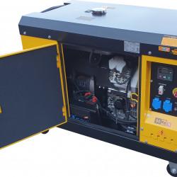 Stager YDE15000T Generator insonorizat diesel monofazat 11kVA, 48A, 3000rpm