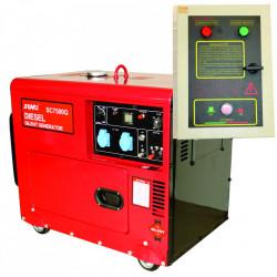 Generator de curent insonorizat Senci SC7500Q ATS 5.0 kW