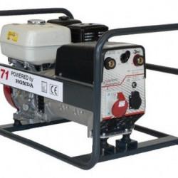Generator de curent pentru sudură Honda TRH171, motor GX-270, monofazat-trifazat, 5,5 kVA, 170AC