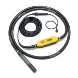 WACKER NEUSON Vibrator de beton cu convertizor încorporat IRFU58, cu cap vibrator de 58 mm și protecție diferențială - BODYGUARD ™