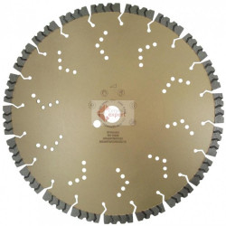 Disc diamantat Shark, diam. 400mm - Super Premium - Beton armat