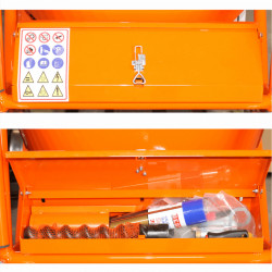 cutie masina de tencuit