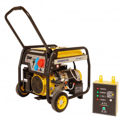 Stager FD 10000E3+ATS generator open-frame 8kW, trifazat, benzina, automatizare
