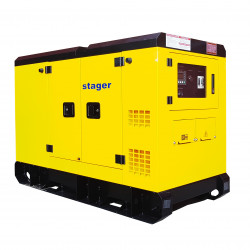 Stager YDY220S3 Generator silent, diesel, 220kVA