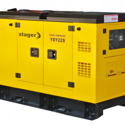 Stager YDY22S Generator insonorizat diesel monofazat 20kVA, 87A, 1500rpm