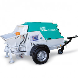 Booster 15, capacitate de pompare 2-15 m³/h, granulometrie maxima 25 mm, motor diesel, 28.4 cp