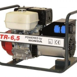 Generator de curent Honda TR6,5, motor GX-390, monofazat-trifazat, 6,5 kVA, 11 CP