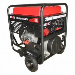Generator de curent trifazat Senci SC15000TE-ATS Putere max. 13 kW 400V AVR motor benzina