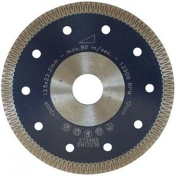 Disc Diamantat Rapid, diam. 125mm - Super Premium - Placi ceramice dure