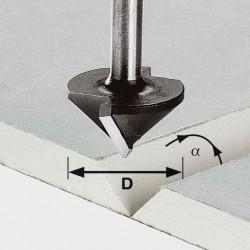 Festool Freză pentru gips-carton HW S8 D12,5/45°