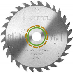 Festool Panza universala de ferastrau 160x2,2x20 W28