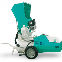 Mover 270eb, motor 400V, 5.5 kW, granulometrie max. 10/15 mm