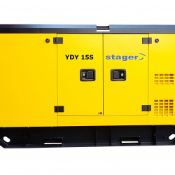 Stager YDY15S Generator insonorizat diesel monofazat 14kVA, 57A, 1500rpm