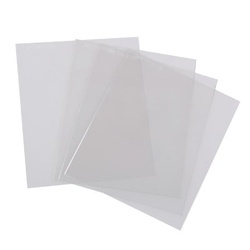 Geam plastic protectie masca sudura 110x90 mm