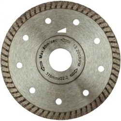 Disc diamantat Turbo Speed, diam. 125mm - Super Premium - Placi ceramice dure