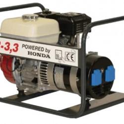 Generator de curent Honda TR 3.3, motor GX-200, monofazat, 3,3 kVA, 5,6 CP