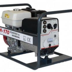 Generator de curent pentru sudură Honda TRH170, motor GX-270, monofazat, 5 kVA, 170AC