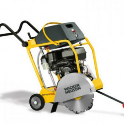 Wacker-Neuson Mașina de tăiat asfalt și beton BFS 940, motor Honda GX 270 benzină, putere 5,1/7 kW/cp, disc 400 mm, adâncime de tăiere 14,5 cm
