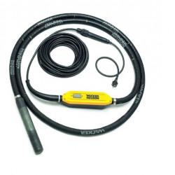 WACKER NEUSON Vibrator de beton cu convertizor încorporat IRFU38, cu cap vibrator de 38 mm și protecție diferențială - BODYGUARD ™