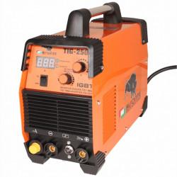 BISONTE Aparat de sudura TIG-250, 15-250A, 230V