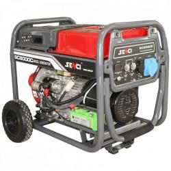 Generator SC-8000D, Putere max. 7.0 kw, 230V, AVR, motor Diesel