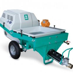Step 120, motor 400V, debit maxim material 35 l/min., dist. de pompare orizontal/vertical 60/30