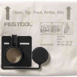 Festool Sac de filtrare FIS-CT 33 SP VLIES/5