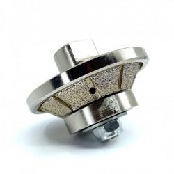 Freza Diamantata Bizot 45 grade - Inaltime 10mm pt. Marmura, Granit si Gresie - DXDY.BVL.H10D65