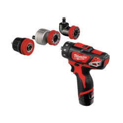 Masina de gaurit Milwaukee multifunctionala MODEL M12BDDXKIT-202X