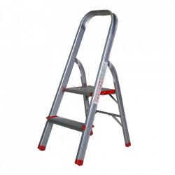 Scara aluminiu 2 trepte, 92cm pentru interior STR0102