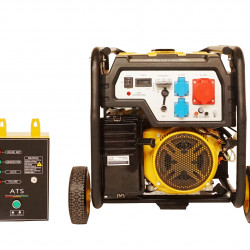 Stager FD 10000E3+ATS generator open-frame 8kW, trifazat, benzina, automatizare