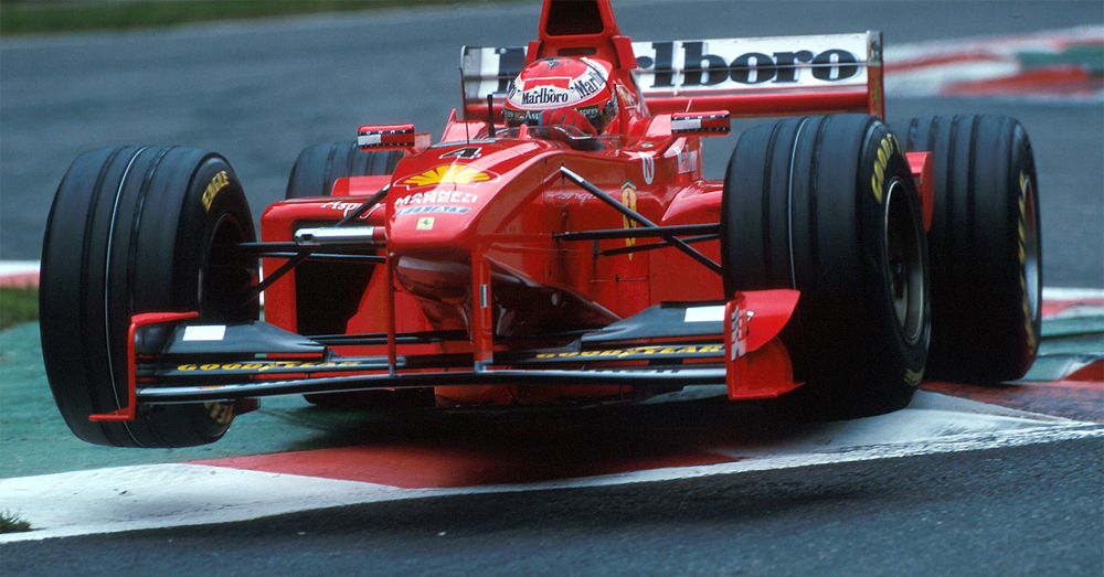 Watch Eddie Irvine Testing The New V10 Ferrari F300 At The Mugello Circuit 1998 Pre Season Testing