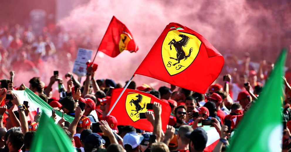 Video A Special Ferrari Win As We Go Among The Tifosi For Charles Leclerc S Victory At 2019 Italian Gp