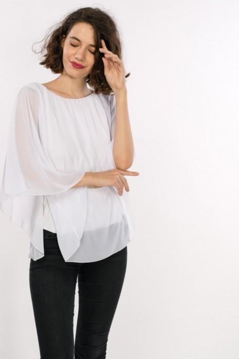 Bluza de seara eleganta cu strasuri, de dama, engros