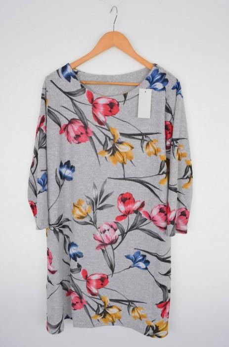 Rochie cu imprimeu floral, engros