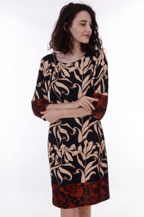 Rochie cu model imprimat, engros