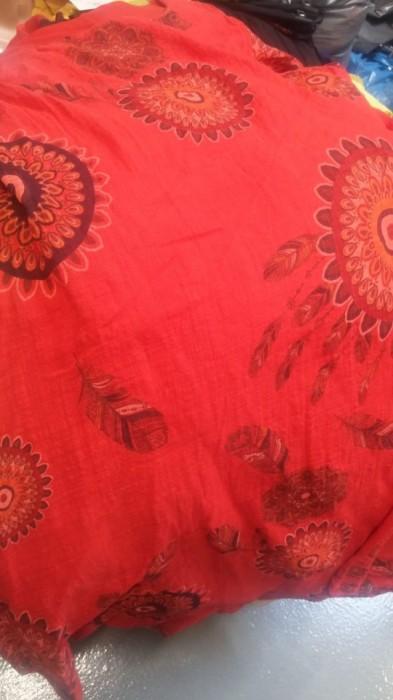Rochie dublata cu imprimeu colorat, engros