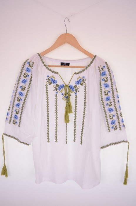 Bluza de dama, traditionala, cu broderie, engros