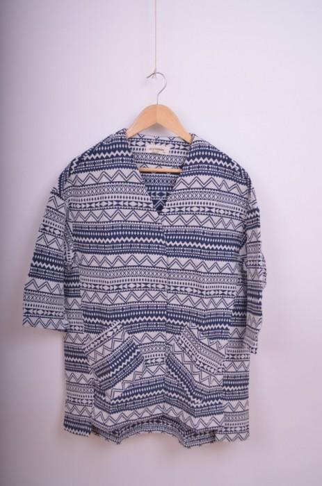 Jacheta de dama, din vascoza, cu modele geometrice, engros